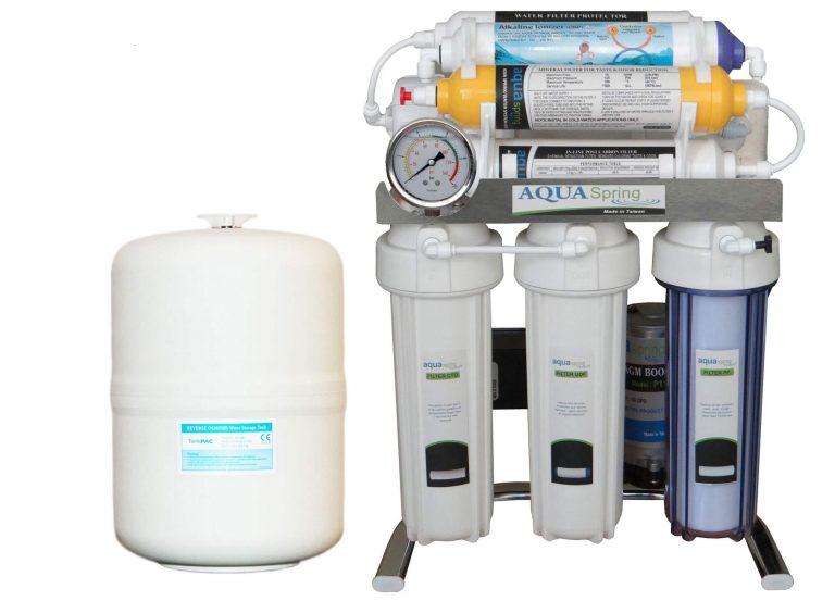 دستگاه تصفیه کننده آب آکوا اسپرینگ 8 مرحله ای
