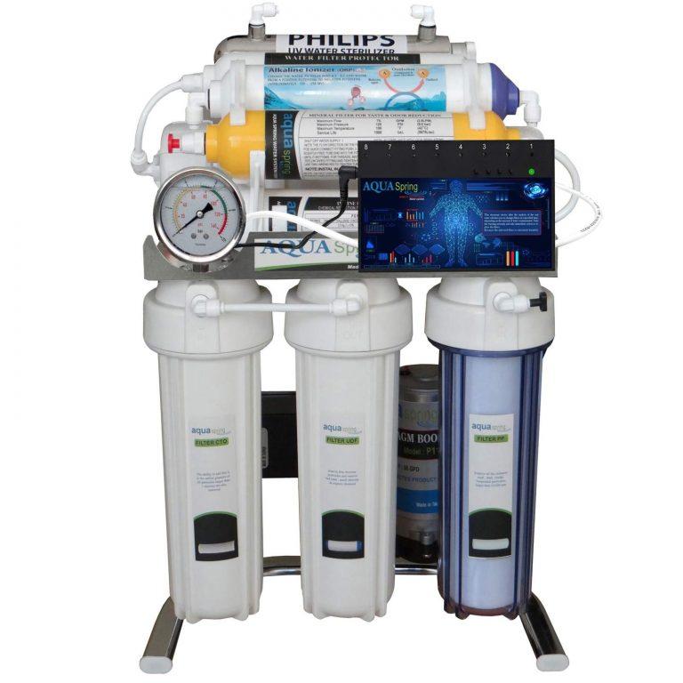 دستگاه تصفیه کننده آب آکوا اسپرینگ 9 مرحله ای