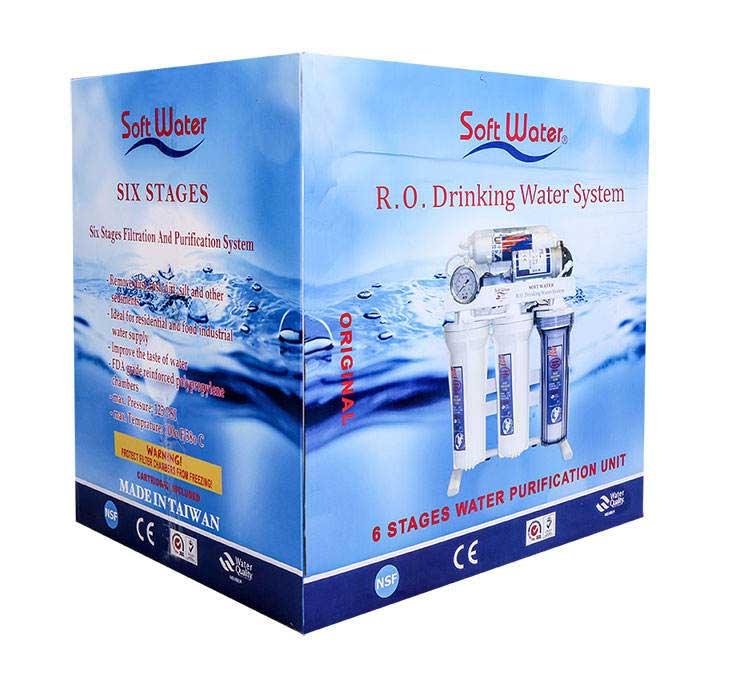 تصفیه آب خانگی سافت واتر 8 مرحله ای مدل RO-8