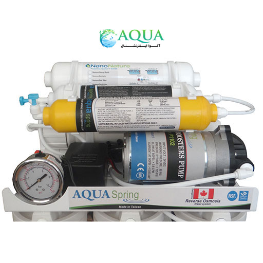تصفیه آب خانگی آکوا اسپرینگ 7 مرحله ای