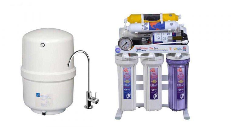 تصفیه آب خانگی سافت واتر 6 مرحله ای مدل RO-6