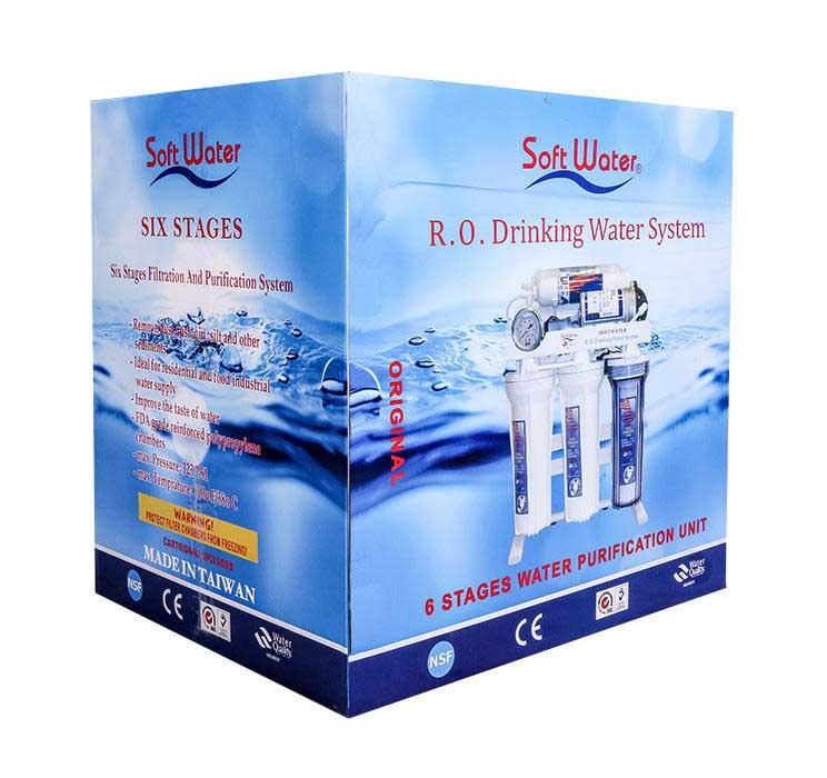 تصفیه آب خانگی سافت واتر 7 مرحله ای مدل RO-7