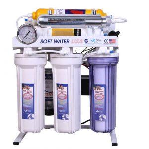 تصفیه آب خانگی سافت واتر 8 مرحله ای مدل RO-8 UV